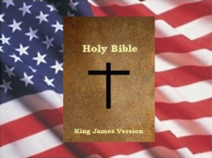 Bible And Flag.